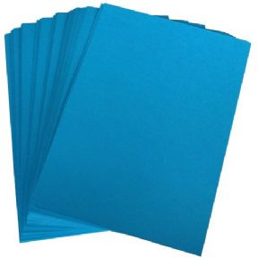 100 x A4 Ocean Blue 250gsm Card - Bulk Buy